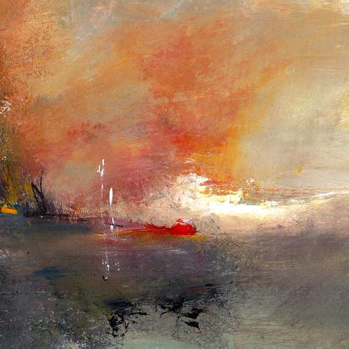 katarina niksic, Das kleine Licht, Abstraktes, Abstrakte Kunst, Expressionismus