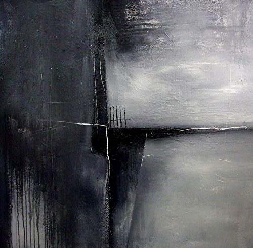 Conny Niehoff, Novemberwege, Abstraktes, Abstrakter Expressionismus