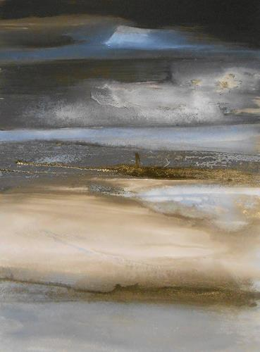Conny Niehoff, Novemberlicht, abstrakte Kunst, Abstraktes, Expressionismus