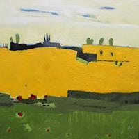 Conny-Niehoff-Landschaft-Fruehling-Moderne-Abstrakte-Kunst