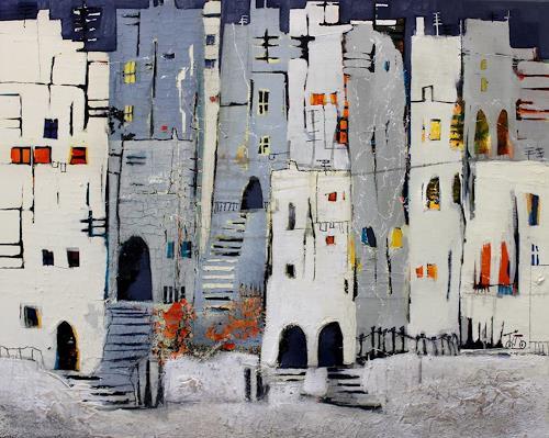Conny Niehoff, Stadtspaziergang, Architektur, Abstrakte Kunst