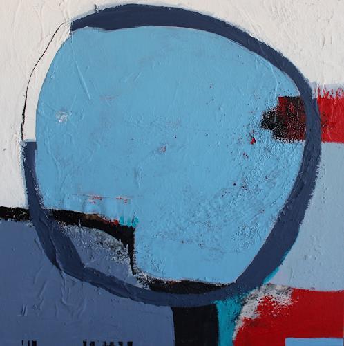 Conny Niehoff, Ein Sommertag am See, Abstraktes, Abstrakte Kunst, Abstrakter Expressionismus