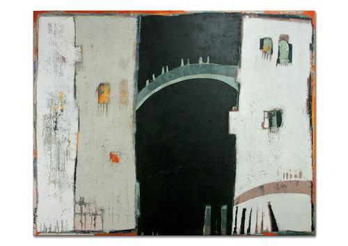Conny Niehoff, Venedigsehnsucht, Abstraktes, Abstrakte Kunst, Expressionismus