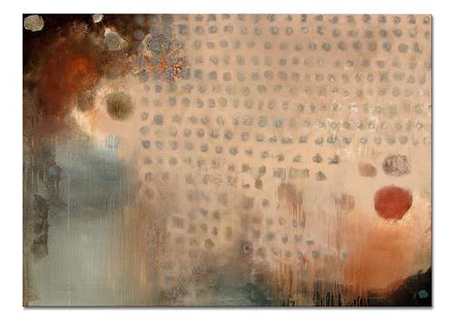 Conny Niehoff, Novemberregen, Abstraktes, Abstrakte Kunst