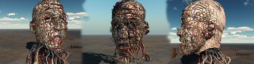 Dimitrios Loumiotis, digital sculpture, Diverses, Diverses, Neuzeit
