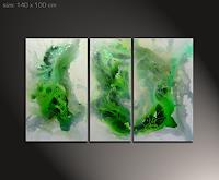 Paul-Sinus-Abstraktes-Dekoratives-Moderne-Abstrakte-Kunst-Action-Painting