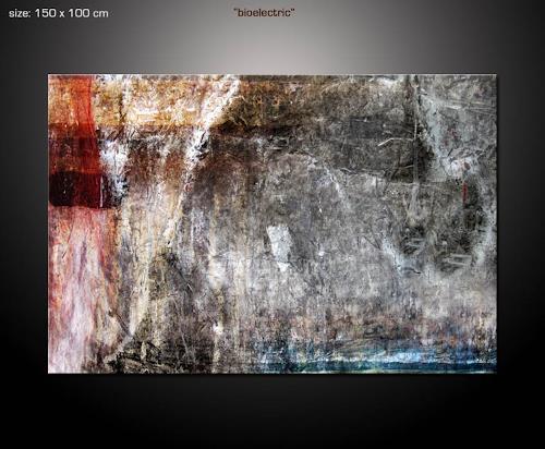 Paul Sinus, bioelectric, Abstraktes, Dekoratives, Neue Wilde