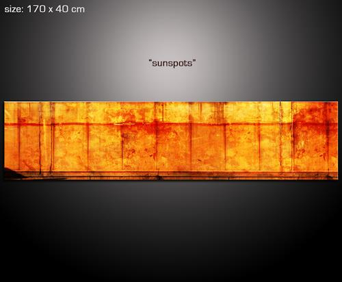sunspots von paul sinus abstraktes architektur malerei. Black Bedroom Furniture Sets. Home Design Ideas