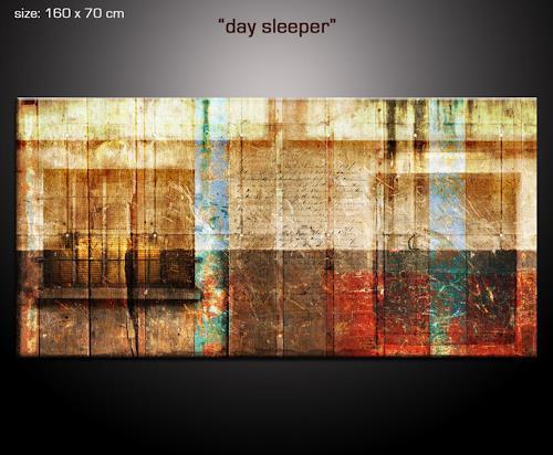 Paul Sinus, daysleeper, Abstraktes, Fantasie, New Image Painting