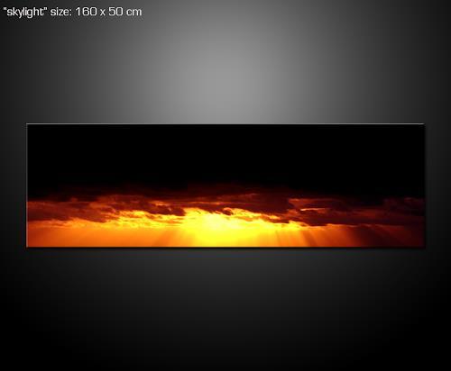 Paul Sinus, Skylight, Romantik: Sonnenuntergang, Romantik: Sonnenaufgang, Land-Art