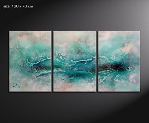 Paul Sinus, shame 2, Abstraktes, Action Painting