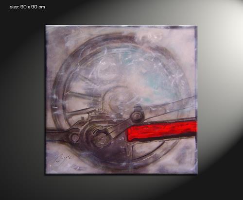 Paul Sinus, puls, Bewegung, Action Painting