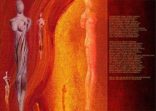 Enido Valesca, 4ira, Gefühle: Liebe, Abstraktes, Abstrakter Expressionismus