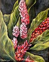 Anne-Waldvogel-Dekoratives-Pflanzen-Blumen-Moderne-Fotorealismus