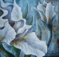 Anne-Waldvogel-Pflanzen-Blumen-Dekoratives-Moderne-expressiver-Realismus