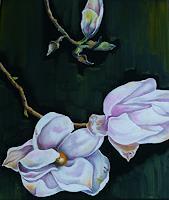 Anne-Waldvogel-Pflanzen-Blumen-Dekoratives-Gegenwartskunst-Gegenwartskunst