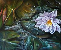 Anne-Waldvogel-Dekoratives-Pflanzen-Blumen-Gegenwartskunst-Gegenwartskunst