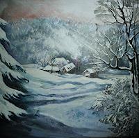 Anne-Waldvogel-Landschaft-Winter-Maerchen-Gegenwartskunst-Gegenwartskunst
