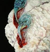 A. Waldvogel, zwei Truthähne