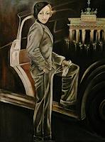 Anne-Waldvogel-Menschen-Frau-Dekoratives-Moderne-Art-Deco
