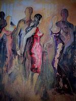 Anne-Waldvogel-Diverse-Menschen-Party-Feier-Moderne-Abstrakte-Kunst
