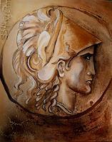 A. Waldvogel, Münze Der Mann mit dem Goldhelm