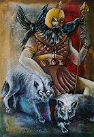 A. Waldvogel, Odin (auch Wodan)
