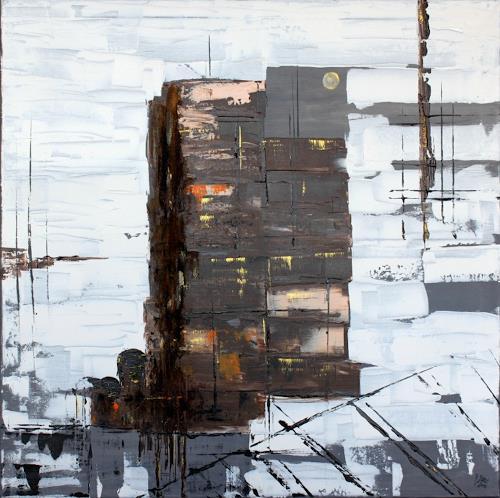 Brigitte Kölli, Industriekultur, Arbeitswelt, Industrie, Abstrakte Kunst, Abstrakter Expressionismus