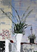 Brigitte-Koelli-Pflanzen-Blumen-Stilleben-Moderne-Abstrakte-Kunst