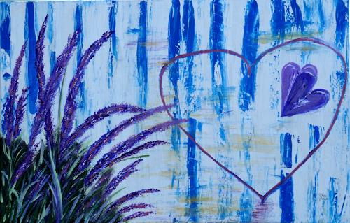 Brigitte Kölli, For you, Pflanzen, Gefühle, Konkrete Kunst