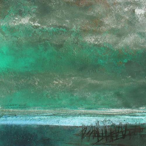 Conny Wachsmann, Piratenbucht, Abstraktes, Landschaft: See/Meer, Moderne, Expressionismus