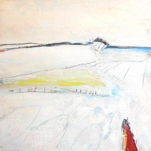 Conny Wachsmann, weiße Bilder, Abstraktes, Abstrakte Kunst
