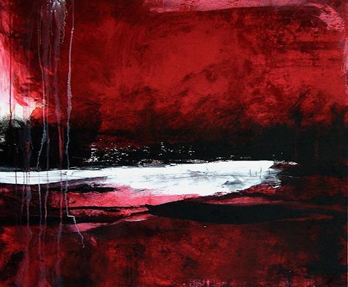 Conny Wachsmann, Weißer See, Abstraktes, Moderne, Expressionismus