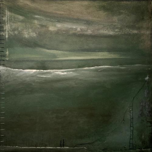 Conny Wachsmann, Bild grün, Abstraktes, Gefühle: Angst, Moderne, Abstrakter Expressionismus
