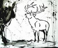 Conny-Wachsmann-Bewegung-Jagd-Moderne-Art-Deco