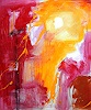 Conny Wachsmann, Abstrakte Kunst gelb