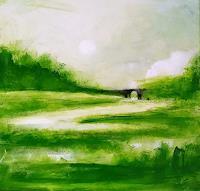 Conny Wachsmann, Grünes Landschaftsbild