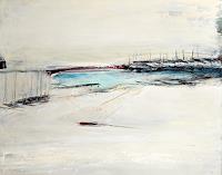 Conny-Wachsmann-Landschaft-See-Meer-Landschaft-Winter-Moderne-Moderne