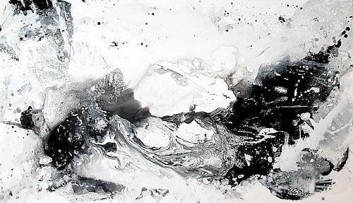 Conny Wachsmann, schwarzweiss Bilder, Abstraktes, Abstrakte Kunst