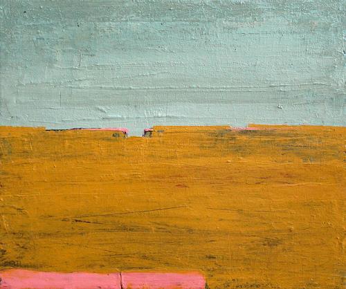 Conny Wachsmann, Schritt für Schritt - 60 x 40 cm, Landschaft: See/Meer, Abstraktes, Minimal Art