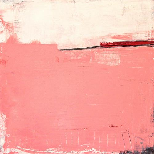 Conny Wachsmann, rosa Bild: Erfahrungen, Diverse Landschaften, Abstraktes, Art Déco