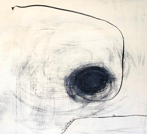 Conny Wachsmann, Beige schwarz - Eins nach dem anderen, Abstraktes, Gesellschaft, Abstrakte Kunst, Abstrakter Expressionismus