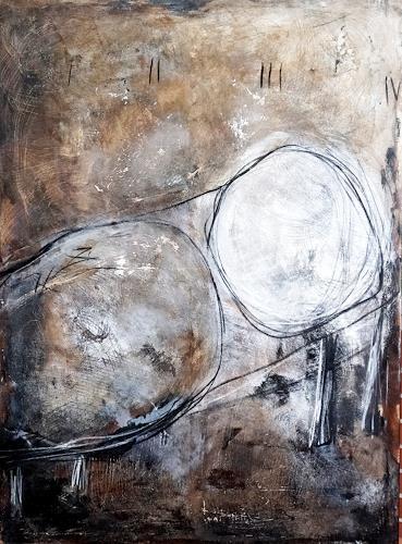 Conny Wachsmann, Lebenstraum 3, Diverse Wohnen, Abstraktes, Abstrakter Expressionismus
