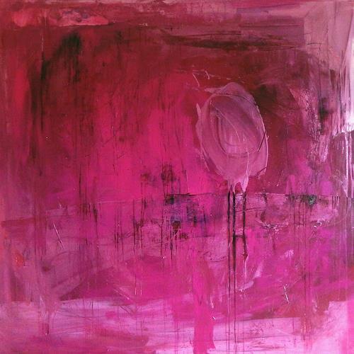 Conny Wachsmann, 170 x 170 cm - Vergissmeinnicht, Abstraktes, Dekoratives, Action Painting, Expressionismus