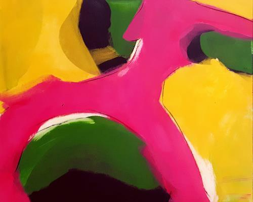 Conny Wachsmann, Bild - Wuff, Landschaft, Art Déco