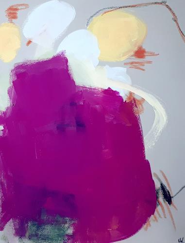Conny Wachsmann, Wettersessel, Abstraktes, Abstrakte Kunst, Abstrakter Expressionismus