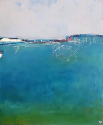 Conny Wachsmann, Ruhiger Hafen, Landschaft: Ebene, Art Déco, Expressionismus