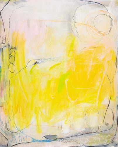 Conny Wachsmann, Sommertag 2, Abstraktes, Art Déco, Expressionismus