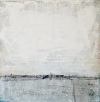 Conny Wachsmann, Seine Gedanken finden - 70 x 70 cm