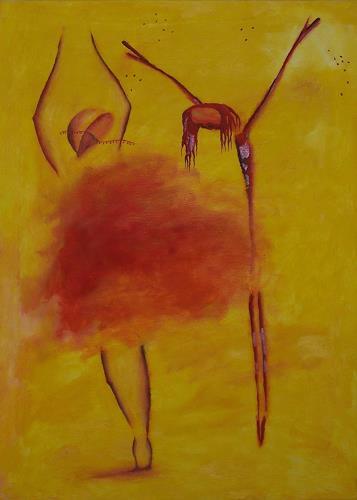 sikis, weeping dancing/płacząc tańcząc/weinend tanzend, Religion, Situationen, Gegenwartskunst, Expressionismus